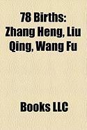78 Births: Zhang Heng, Liu Qing, Wang Fu