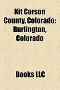 Kit Carson County, Colorado: Burlington, Colorado