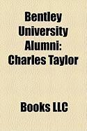 Bentley University Alumni: Charles Taylor