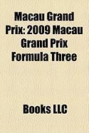 Macau Grand Prix: 2009 Macau Grand Prix Formula Three