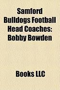 Samford Bulldogs Football Head Coaches: Bobby Bowden