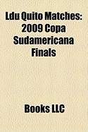 Ldu Quito Matches: 2009 Copa Sudamericana Finals