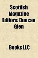 Scottish Magazine Editors: Duncan Glen