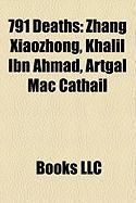 791 Deaths: Zhang Xiaozhong