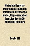 Metadata Registry: National Information Exchange Model