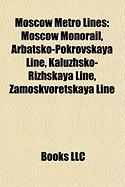 Moscow Metro Lines: Moscow Monorail
