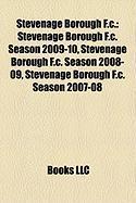 Stevenage Borough F.C.: Stevenage Borough F.C. Season 2009-10