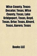 Wise County, Texas: Dallas - Fort Worth Metroplex