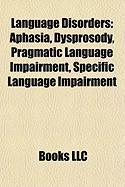 Language Disorders: Dysprosody
