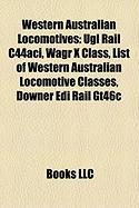 Western Australian Locomotives: Ugl Rail C44aci