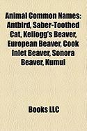 Animal Common Names: Antbird