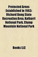 Protected Areas Established in 1963: Yellow Creek State Park