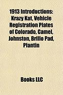 1913 Introductions: Krazy Kat