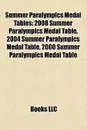 Summer Paralympics Medal Tables: 2008 Summer Paralympics Medal Table, 2004 Summer Paralympics Medal Table, 2000 Summer Paralympics Medal Table