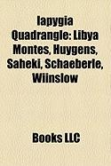 Iapygia Quadrangle: Libya Montes, Huygens, Saheki, Schaeberle, Wiinslow