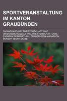 Sportveranstaltung Im Kanton Graubünden