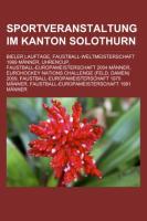 Sportveranstaltung Im Kanton Solothurn