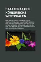 Staatsrat Des Königreichs Westphalen
