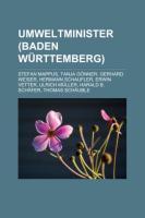 Umweltminister (Baden-Württemberg)