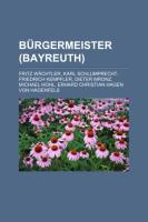 Bürgermeister (Bayreuth)