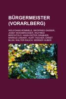 Bürgermeister (Vorarlberg)