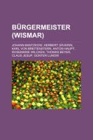 Bürgermeister (Wismar)