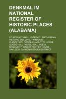 Denkmal Im National Register of Historic Places (Alabama)
