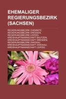Ehemaliger Regierungsbezirk (Sachsen)
