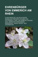 Ehrenbürger Von Emmerich Am Rhein