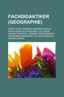 Fachdidaktiker (Geographie)