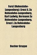 Fürst (Hohenlohe-Langenburg)