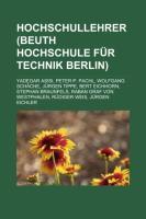 Hochschullehrer (Beuth-Hochschule Für Technik Berlin)