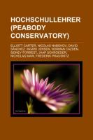 Hochschullehrer (Peabody Conservatory)