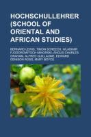 Hochschullehrer (School of Oriental and African Studies)