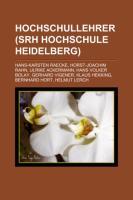 Hochschullehrer (Srh Hochschule Heidelberg)