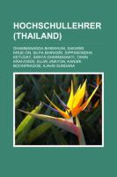 Hochschullehrer (Thailand)