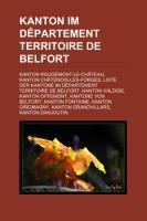 Kanton Im Département Territoire de Belfort
