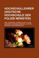 Hochschullehrer (Deutsche Hochschule Der Polizei Münster)