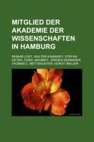 Mitglied Der Akademie Der Wissenschaften in Hamburg