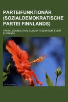Parteifunktionär (Sozialdemokratische Partei Finnlands)