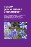 Person (Mecklenburg-Vorpommern)