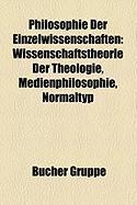 Philosophie Der Einzelwissenschaften