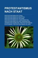 Protestantismus Nach Staat