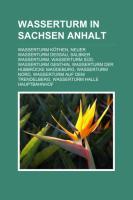 Wasserturm in Sachsen-Anhalt