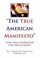 The True American Manifesto