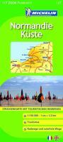 Michelin Normandie Küste: Straßen- und Tourismuskarte 1:150.000 (MICHELIN Zoomkarten)