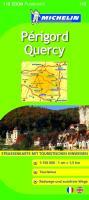 Michelin Quercy, Perigord: Straßen- und Tourismuskarte (MICHELIN Zoomkarten)