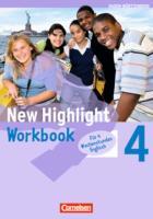 New Highlight - Baden-Württemberg: Band 4: 8. Schuljahr - Werkrealschulen (4 Wochenstunden): Workbook