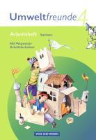 Umweltfreunde - Sachsen - Ausgabe 2009: 4. Schuljahr - Arbeitsheft: Mit Wegweiser Arbeitstechniken