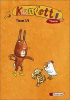 Konfetti Thema 3 / 4. Tiere